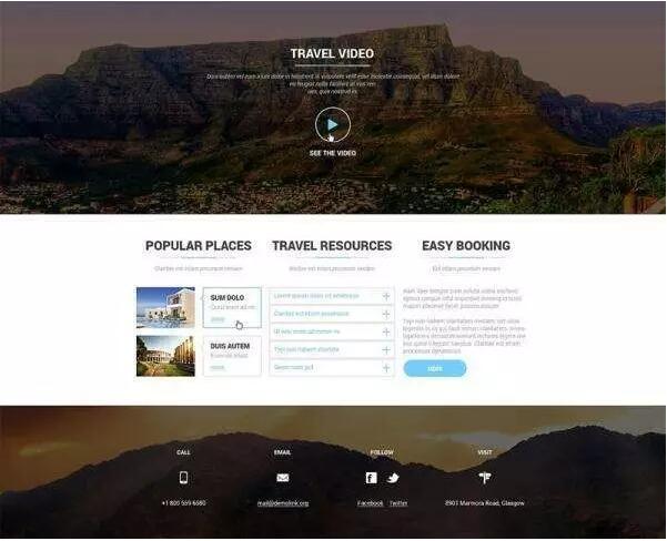 現階段比較流行的網頁設計風格有哪些