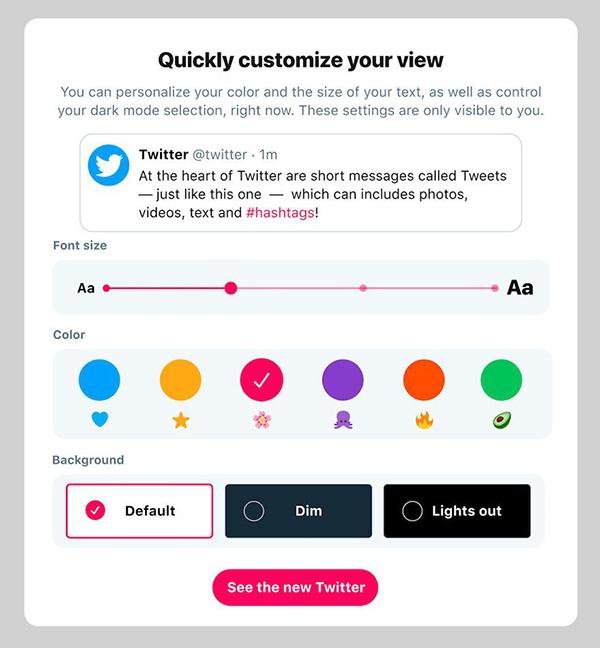 網頁設計案例分享:Twitter網頁版的設計改版分析